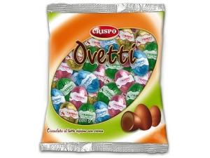CRISPO  ovetti di cioccolato  • RIPIENI assortiti • FARAONA  KG 1