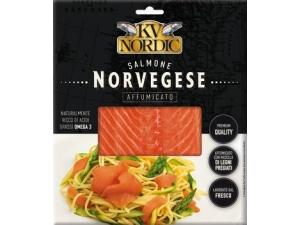 Kv nordic  salmone norvegese  affumicato gr 100