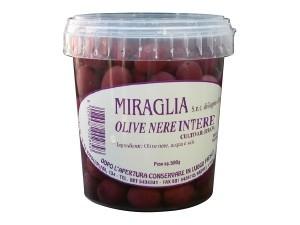 Miraglia olive nere intere gr 500