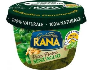 Rana  pesto fresco • alla genovese • senz'aglio • di noci • radicchio • mediterraneo gr 140