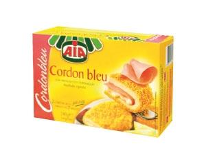 AIA  cordon bleu  con prosciutto cotto e formaggio gr 240