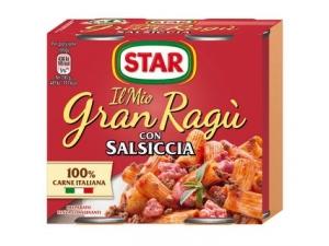Star il mio gran ragù • classico • datterino • funghi porcini • salsiccia • speck • piccante gr 180 x 2