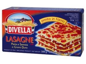 Divella  lasagne di semola  di grano duro  gr 500