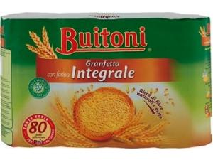 Buitoni granfetta 80 fette biscottate • CLASSICHE • integrali gr 600