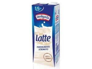 Sterilgarda  latte uht  parzialmente scremato  in brik lt 1,5