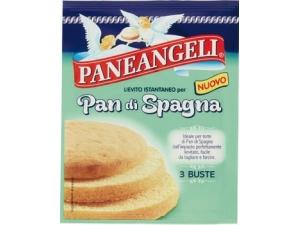 Paneangeli • lievito per biscotti 3 buste gr 27 • pan di spagna 3 buste gr 33