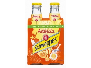 SCHWEPPES • LIMONE • TONICA • ARANCIA CL 18 x 4