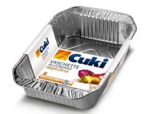 Cuki  vaschette in alluminio caldo • T10 • R181 • R30  • T21 • RS86 • R75 • rs98 • microforata 8 porzioni