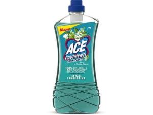 Ace pavimenti igienizzante • talco e muschio bianco • lavanda lt 1