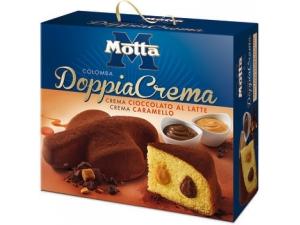 Motta colomba doppia crema • caramello e cioccolato •cioccolato bianco e limone gr 700