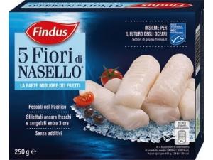 Findus 5 fiori di nasello gr 250