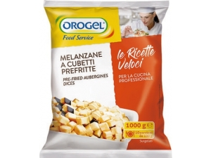 Orogel melanzane a cubetti prefritte kg 1