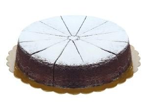 La donatella  torta caprese  pretagliata 12 porzioni kg 1,2