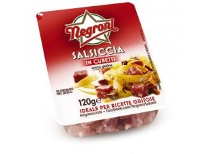 Negroni salsiccia a cubetti • dolce • affumicata GR 120