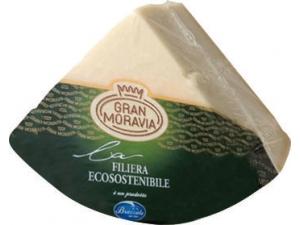 Gran moravia  formaggio  da tavola 1/8 di forma sottovuoto al kg