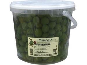 """Miraglia  olive verdi """"00"""" kg 3,5"""
