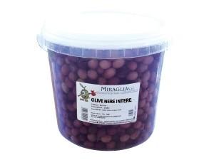 Miraglia olive nere intere kg 3,5