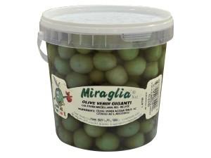 Miraglia  olive verdi giganti kg 1