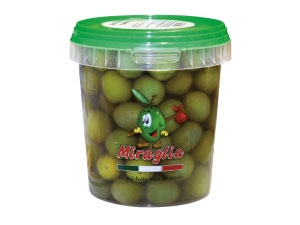 Miraglia olive verdi giganti gr 500