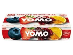 Yomo yogurt magro GUSTI ASSORTITI gr 125 x 8