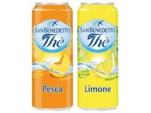 San benedetto  thè   • limone • pesca cl 33