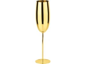 Paderno flute champagne inox oro ml 270