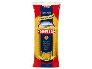 Divella  pasta di semola formati le specialità • mafaldine • mezzani • regine • tripoline • ziti • zitoni gr 500