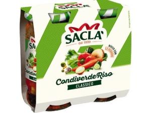 Saclà condiverde riso classico - gr 290 x 2
