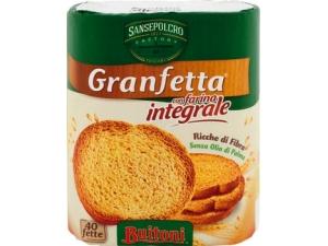 Buitoni granfetta 40 fette biscottate • classiche • integrali gr 300