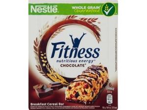 Nestlè fitness  6 barrette di cereali  • frutti rossi • cioccolato • naturale • frutti gialli gr 141 • delice cioccolato  e nocciola gr 135