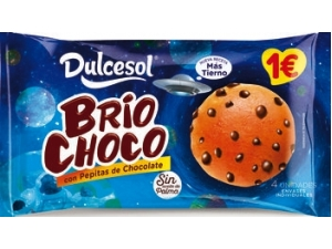 Dulcesol briochoco con gocce di cioccolato gr 160