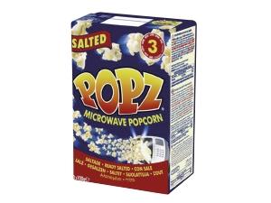 Popz  popcorn microonde gr 100 x 3