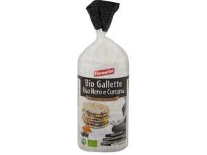 Fiorentini bio gallette con riso nero e curcuma gr 100