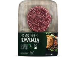 Hamburger  romagnola skin gr 200