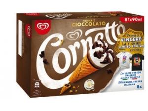 Cornetto 8 coni • classico • cioccolato gr 480