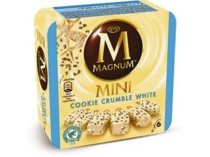 Algida magnum mini • classico gr 352 • dark gr 264 • cookie gr 270 • double gr 300 • ruby gr 258 - pz 6  • bianco • pistacchio gr 352  - pz 8