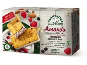 Sammontana amando sammontana amando • 6 stecchi alla frutta gr 330 • 4 coni gr 300 • 4 biscotti gr 208