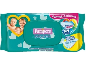 Pampers  baby fresh  salviettine pz 70