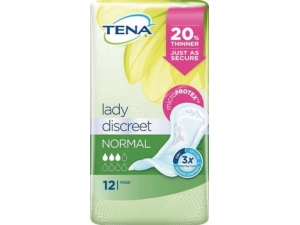 Tena lady assorbenti discreet normal pz 12