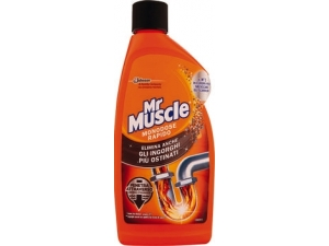 MR MUSCLE  TUBI&SCARICHI  GEL ML 500