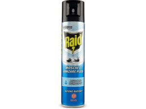Raid mosche e zanzare plus aqua-base technology ml 400