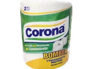 Corona bomber asciugatutto 2 veli