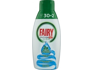 Fairy gel lavastoviglie platinum • limone • brezza marina ml 650
