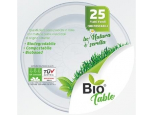 Bio table piatti • piani • fondi pz 25