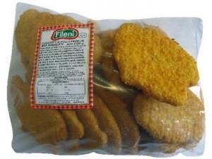 Fileni  cotolette di pollo con spinaci kg 2,5