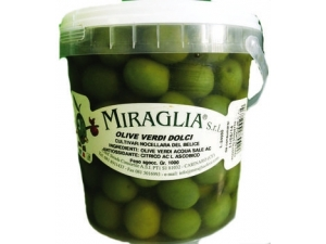 Miraglia  olive verdi dolci kg 1