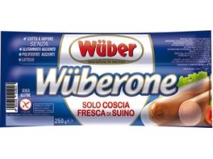 Wuber  wurstel wuberone di puro suino  gr 250