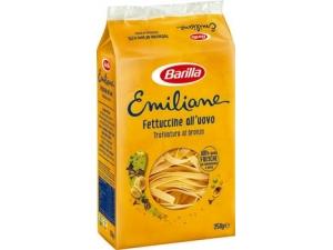 Barilla emiliane  nidi all'uovo • fettuccine  • fettuccine ricce • pappardelle  • tagliatelle  • taglierini  gr 250