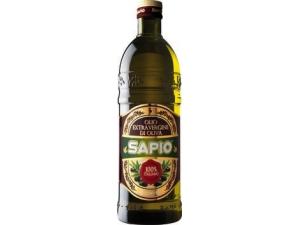 SAPIO  OLIO EXTRA VERGINE DI OLIVA  100% ITALIANO  LT 1