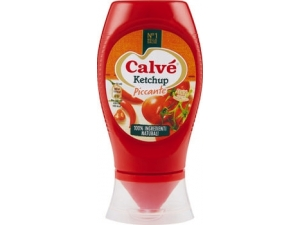 Calvè top down  ketchup • dolce • piccante • light Ml 250